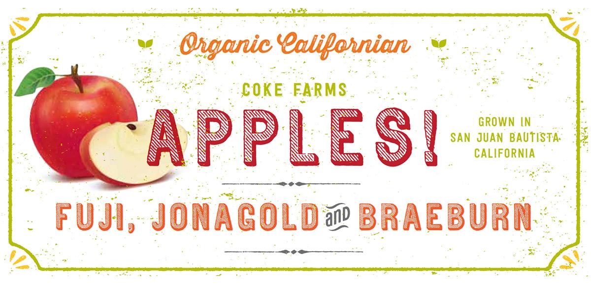 Apples from Coke Farm