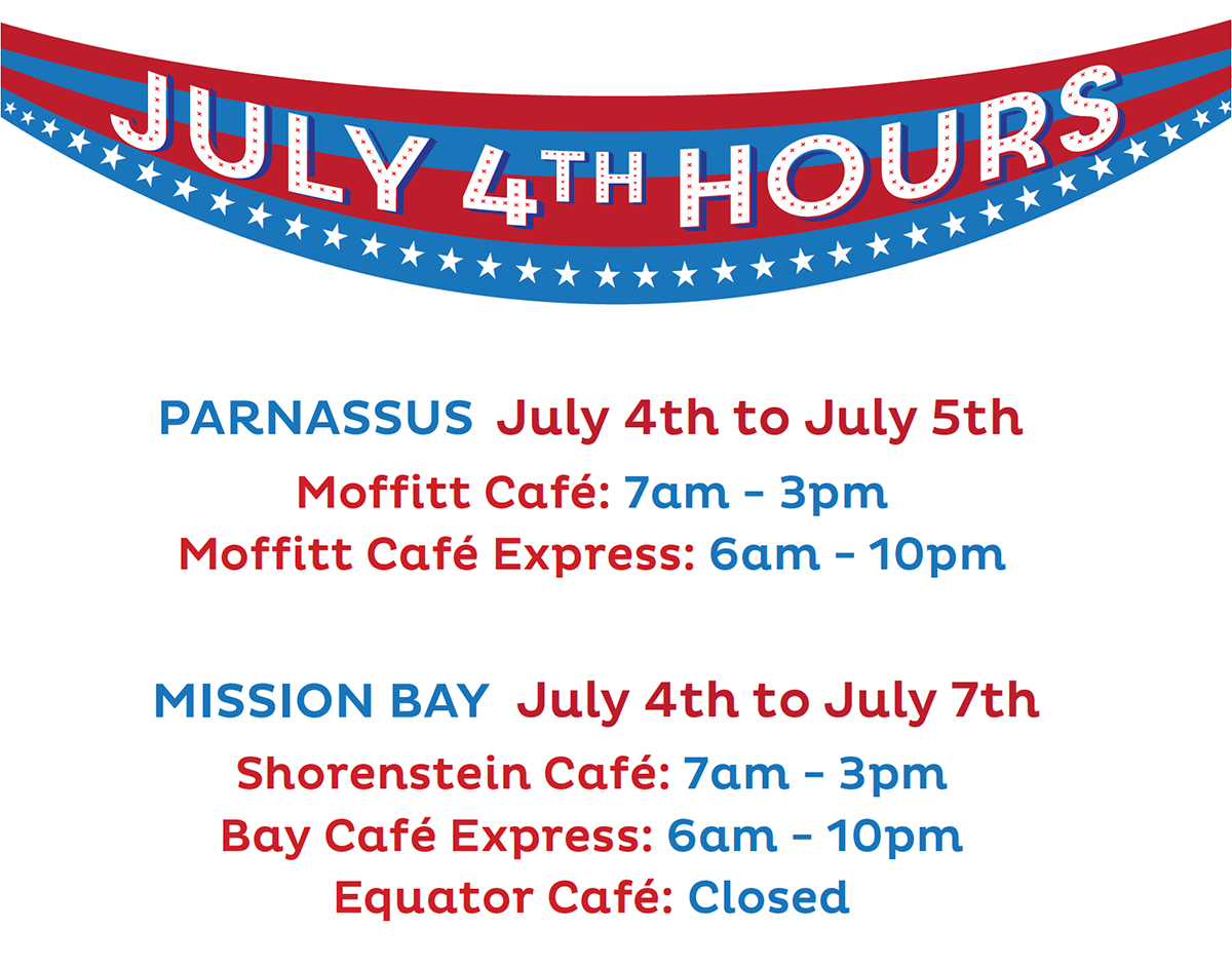 July 4th 2019 Hours