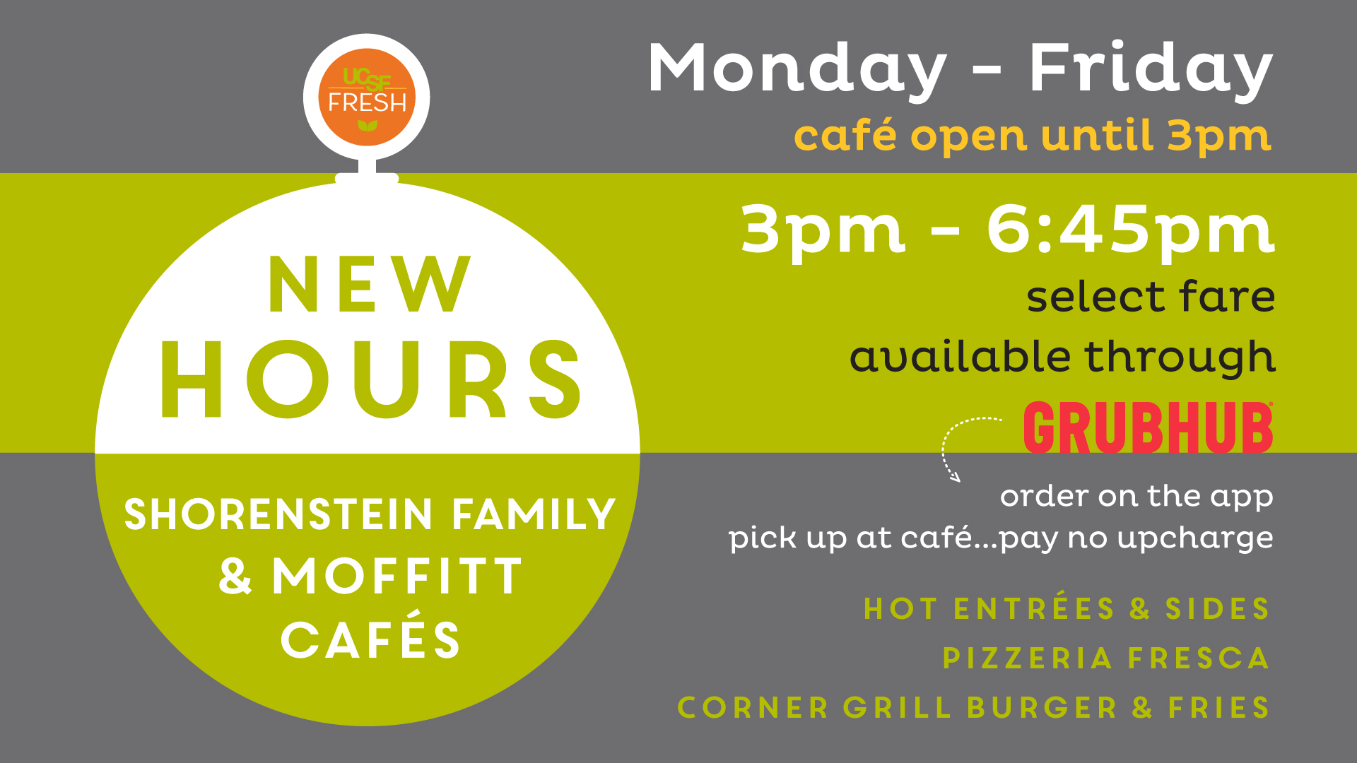 New Cafe Hours