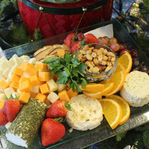 Christmas Cheese Tray